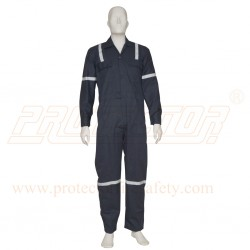 Work Wear Neavy Blue Light Duty With Reflective Tape 1 PC