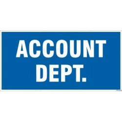 Account Dept.
