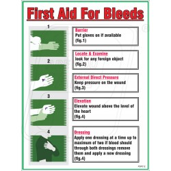 First aid managing bleeds