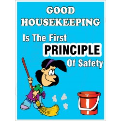 Good housekeeping promotes safety