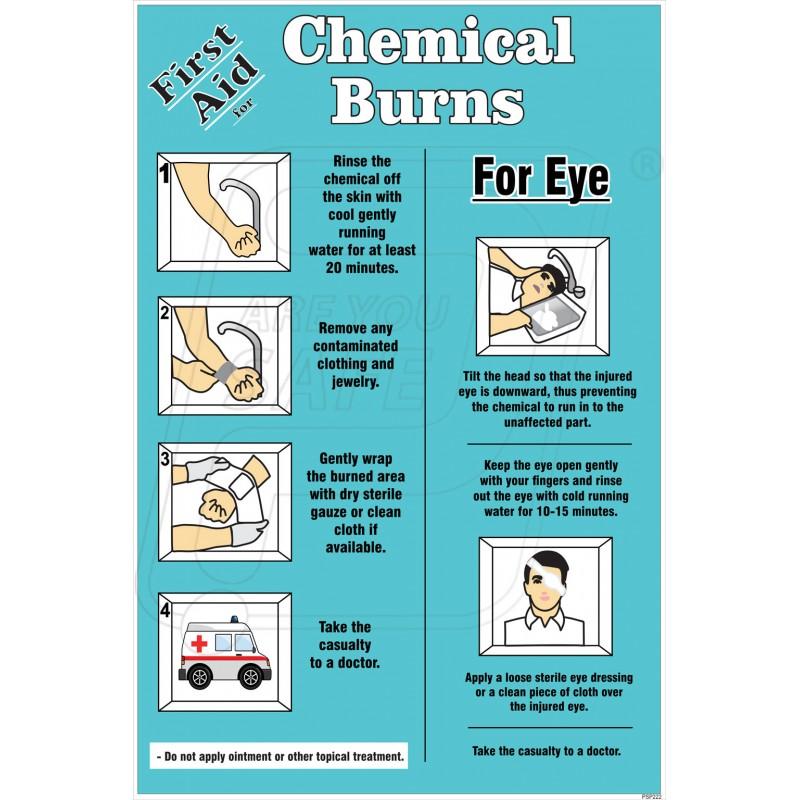 Burn first aid