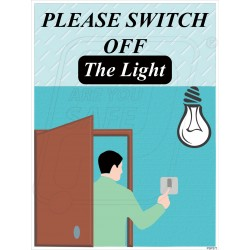 Last person out please switch off the light