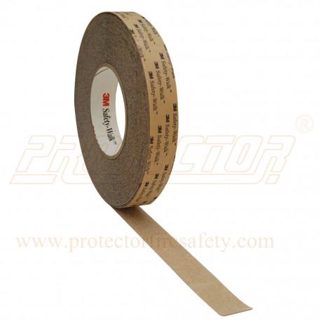 3 M 620 Anti skid tape 24 mm X 18.3 M clear