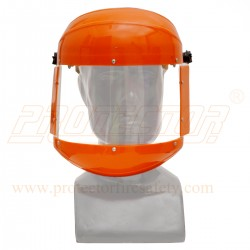 "Face shield clear 6"" X 11"" A type + Head Ring"