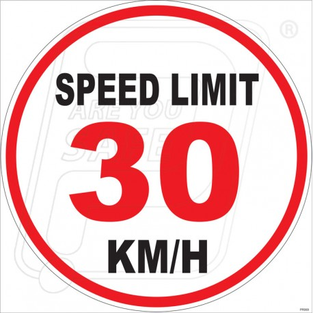 Protector Firesafety India Pvt Ltd Speed Limit 30 Kmh In
