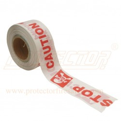 Barricade tape Red & White 250 Mtr