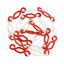 Plastic interlink chain K type 6 mm