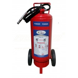 Fire extinguisher DCP type 50 kg CO2 bottle