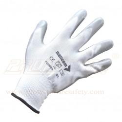Hand gloves nitrile coted P 25 NGA Mallcom