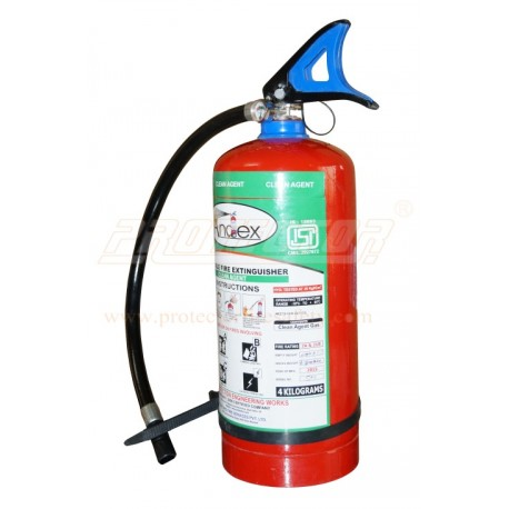 Fire extinguisher clean Agent 4kg Andex