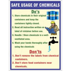 Safe Usage Of Chemical