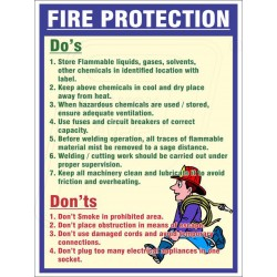 do's and don'ts of fire protection  protector firesafety