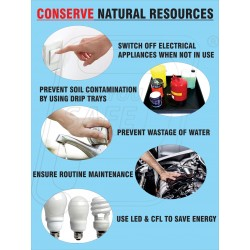 Conserve Natural Resources