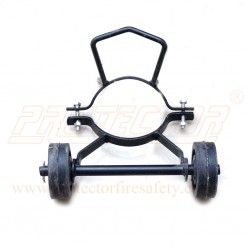 Trolly wheel for 9 kg CO2 fire ext.