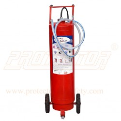 Fire Extinguisher DCP type 75 Kg. outside CO2 bottle.