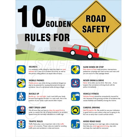 Road Safety Rules Ahmedabad Gujarat Protector Firesafety