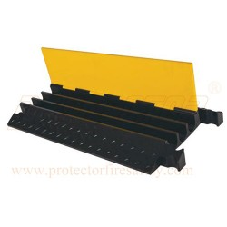 Cable protector three chennel