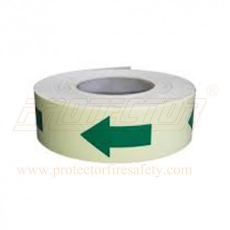 Anti skid night glow arrow tape 48 mm X 18.3 M