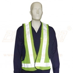 Jacket net type 3 side open reflective tape