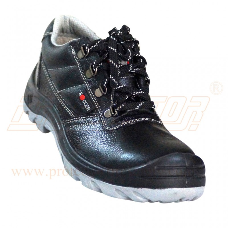 Shoes PU Sole Soccer Dual Density ISI