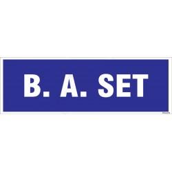 B. A. Set