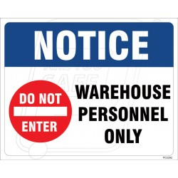 Warehouse Personnel Only