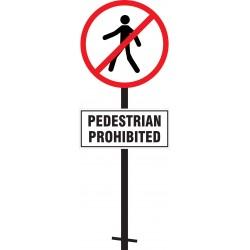 Pedestrian Prohibited