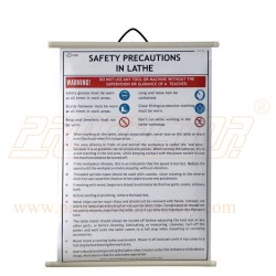 Safety Precautions in Lathe Machine (English)