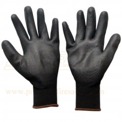 Hand gloves PU coated P 513 B Mallcom