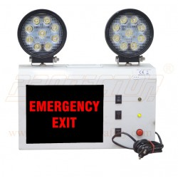 LED With Halogen Based Emergency Way Light