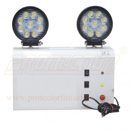 LED With Halogen Based Light
