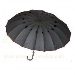 Rain Umbrella Round Handle 16 Rib