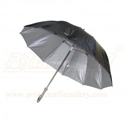 Rain Umbrella Round Handle 12 Rib