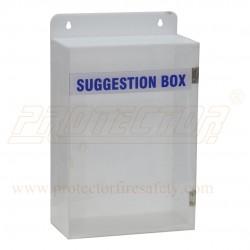 Suggestion Box Acrylic 300 X 200 X 100 X 3 mm