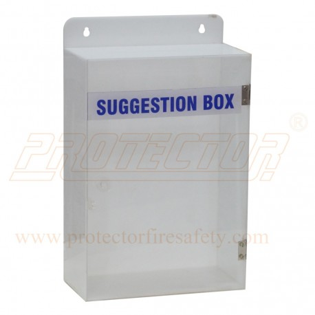 Suggestion Box Acrylic 12 X 8 X 4 X 3mm