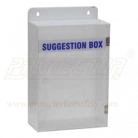 Suggestion Box Acrylic 12 X 8 X 4 X 3mm