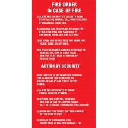 Fire Order