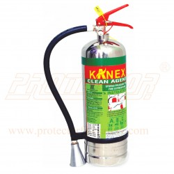 Fire extinguisher clean agent 2kg. Stainless Steel