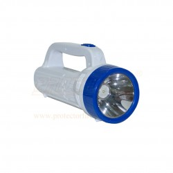LED Rechargeable Medium Torch 15W + 24SMD