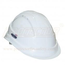 Helmet Ratchet Airvent Armor Safedot White