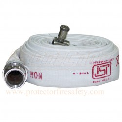 Fire hose 63 mm X 15 M RRL A with M/F coup. SS Pneucon