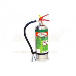 Fire extinguisher clean agent 4kg. Stainless Steel