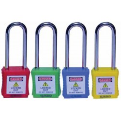 OSHA LOTO Padlock Steel Shackle 76 mm