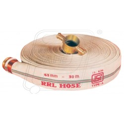 Fire delivery hose 15 Mtr. RRL A with M/F coup. SS