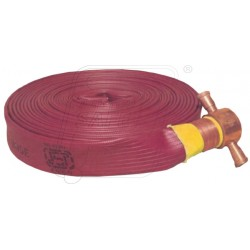 Fire delivery hose 15 Mtr. RRL B with M/F coup. SS