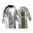 Fire Aluminized Apron 24'' X 36'' Commercial 2 layers