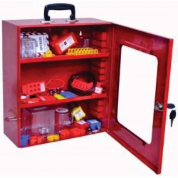 LOTO safety lockout tagout kit with