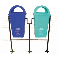 Dust Bin dome lid with stand