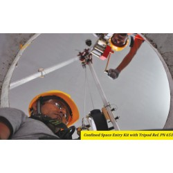 Confined Space Entry Kit With Tripood