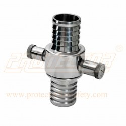 Fire hose coupling Male / Female Stainless Steel